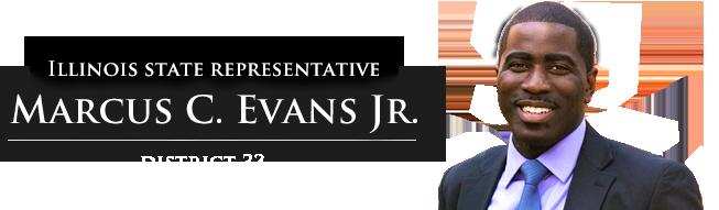 State Rep Marcus Evans Logo